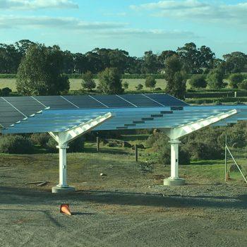 solar panels rosebud